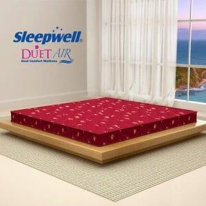 sleepwell duet luxury mattress price